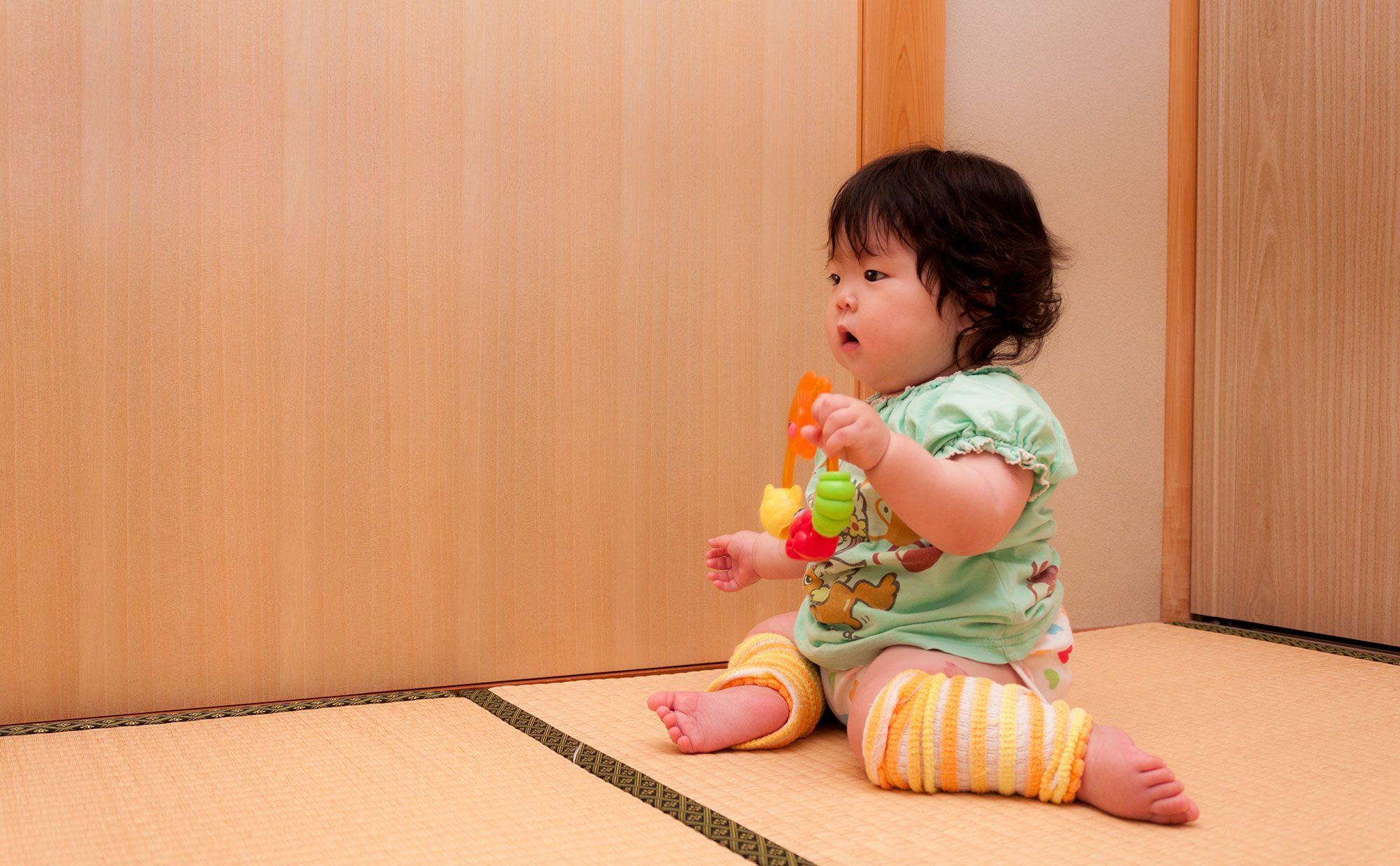 赤ちゃんには畳が必要? 和室のリアルな使い勝手をママが語ります