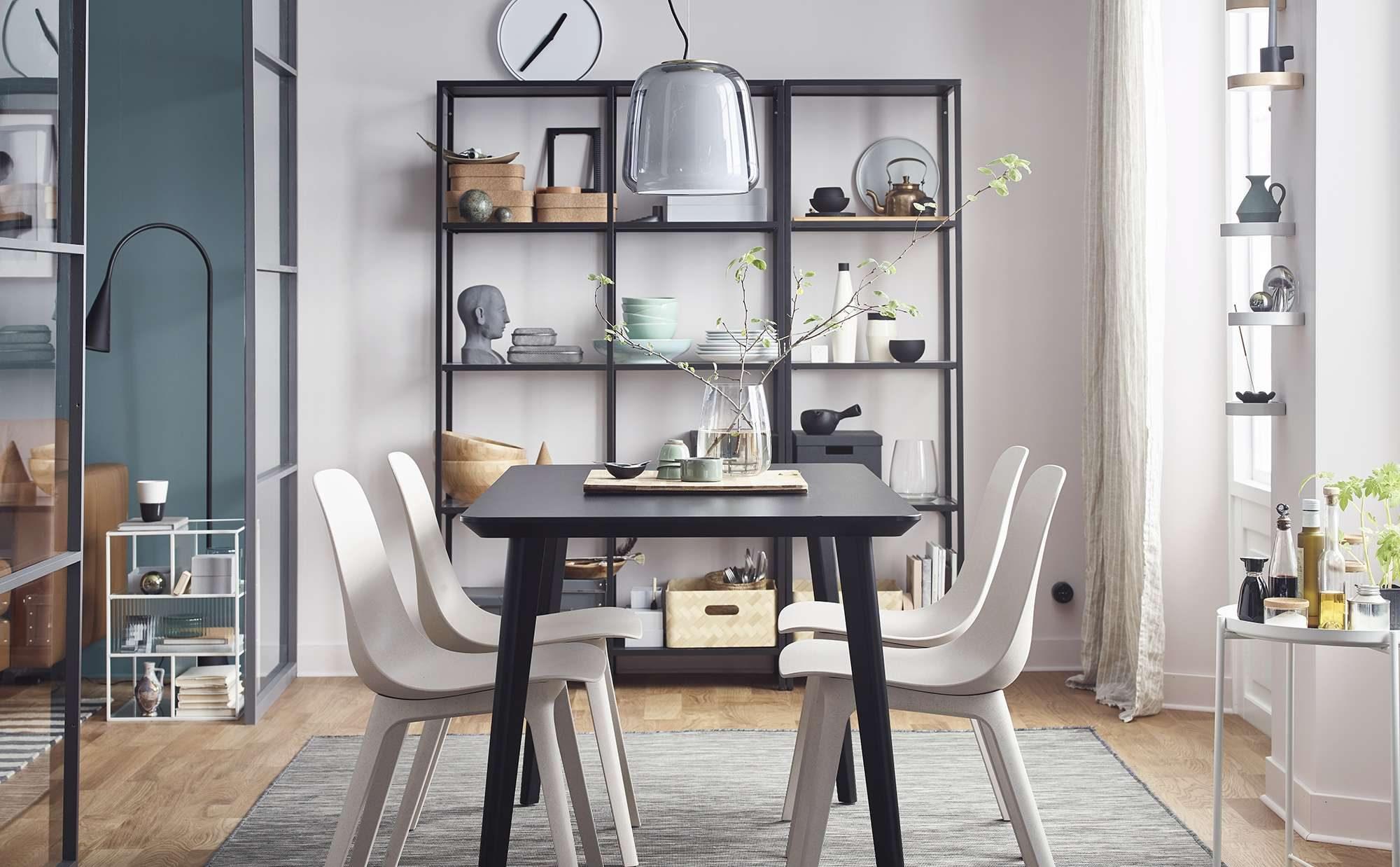 IKEA(イケア)のアイテムで、シンプルな北欧インテリアを楽しむ