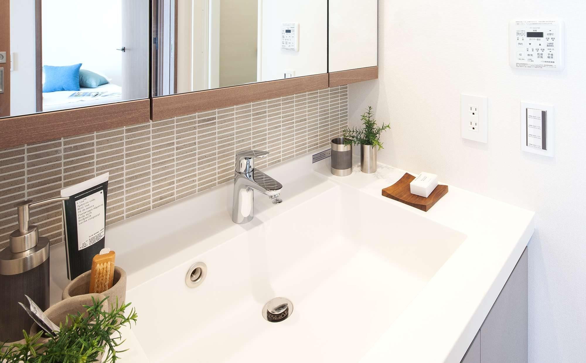 毎日快適に過ごせる、こだわりの洗面台のある暮らし
