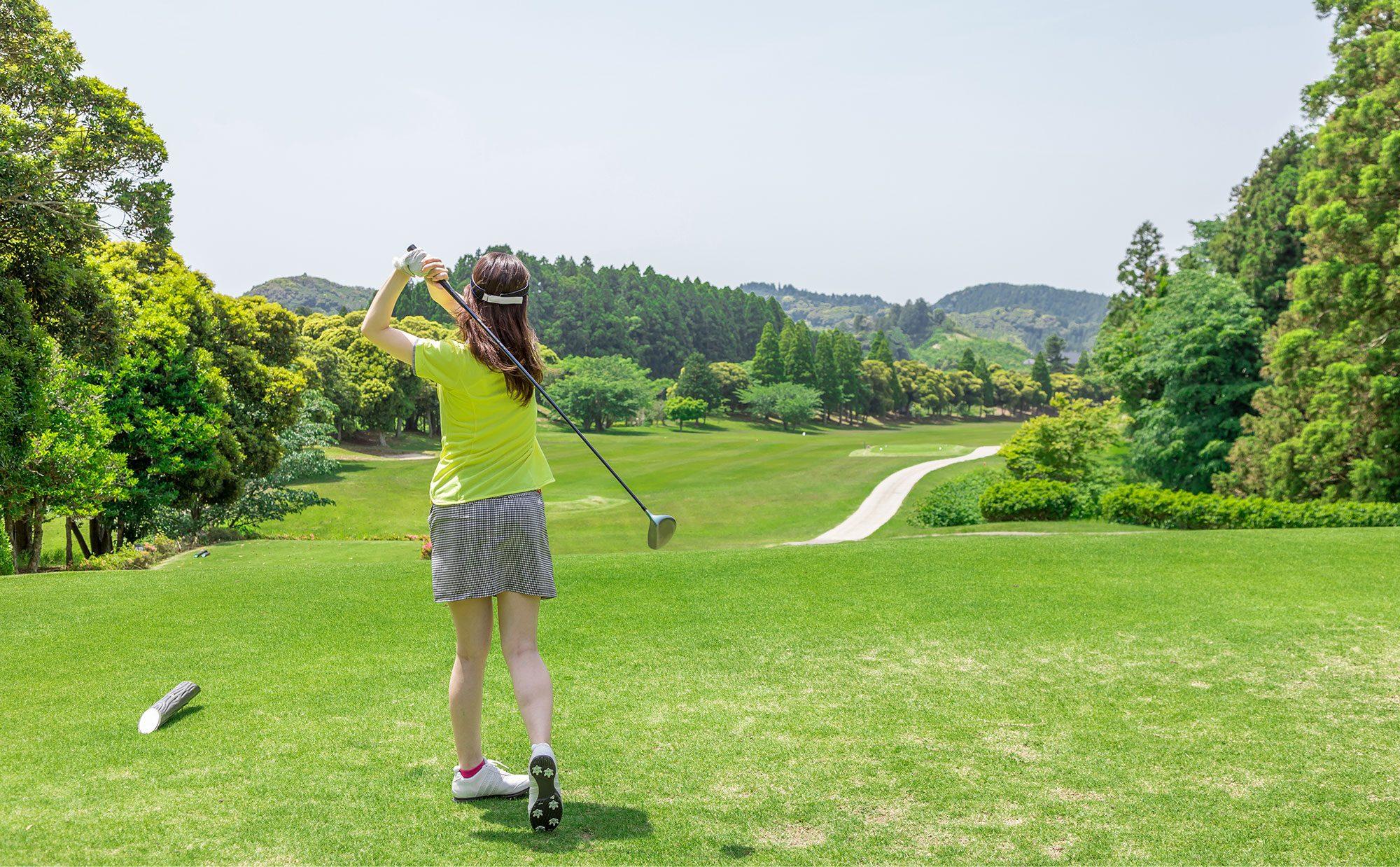 ゴルフ女子始めました。かわいく楽しくゴルフしよう