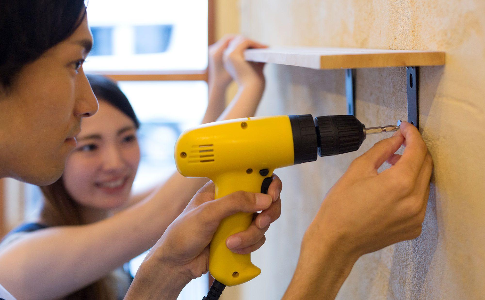 これだけやっても壁にダメージなし! 驚きの賃貸DIYテクニック