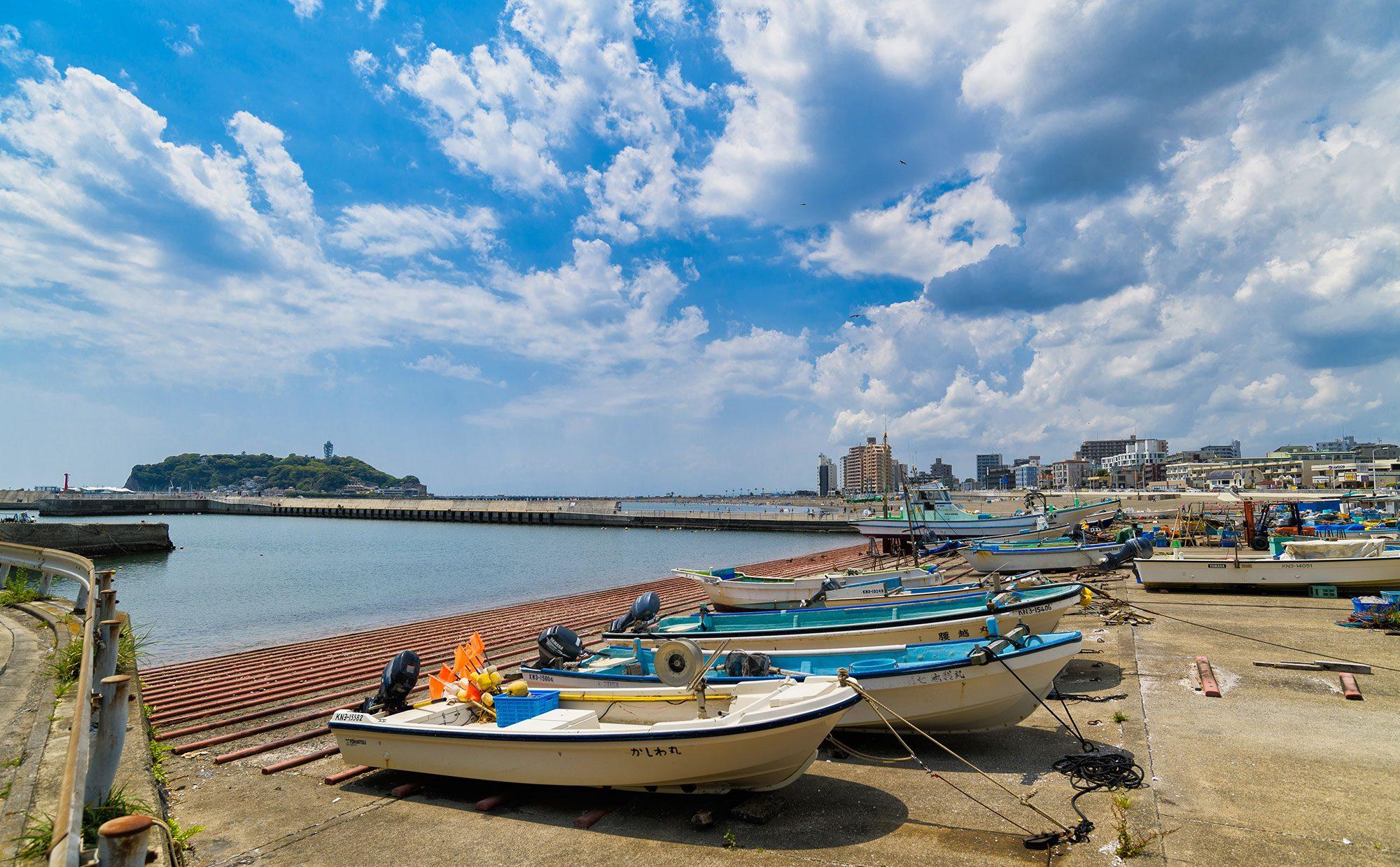 辻堂で日常から漁港を楽しみ尽くす。至福の湘南暮らし