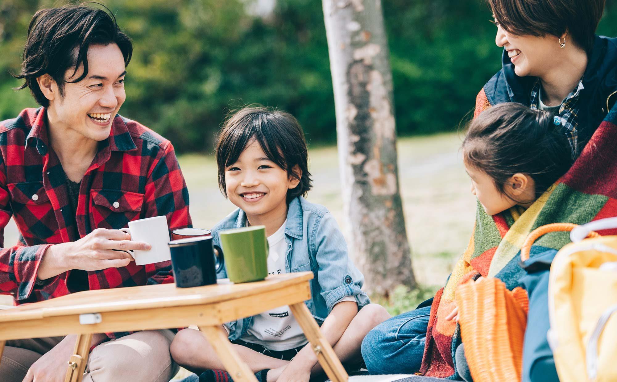 わが家の趣味は「秋×都心キャンプ」! 気軽に秋の味覚を楽しもう