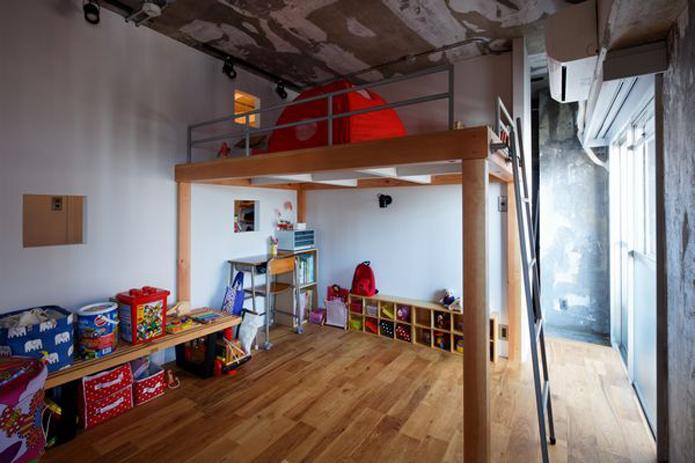【リノベ暮らしな人々】ロフトによって広さを確保した子ども部屋
