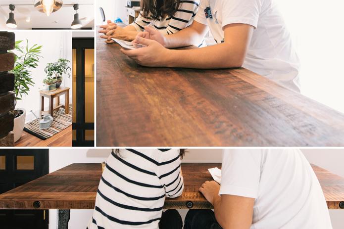 【リノベ暮らしな人々】Vol.63 無垢のフローリングとブリックタイルのある、カフェ風空間